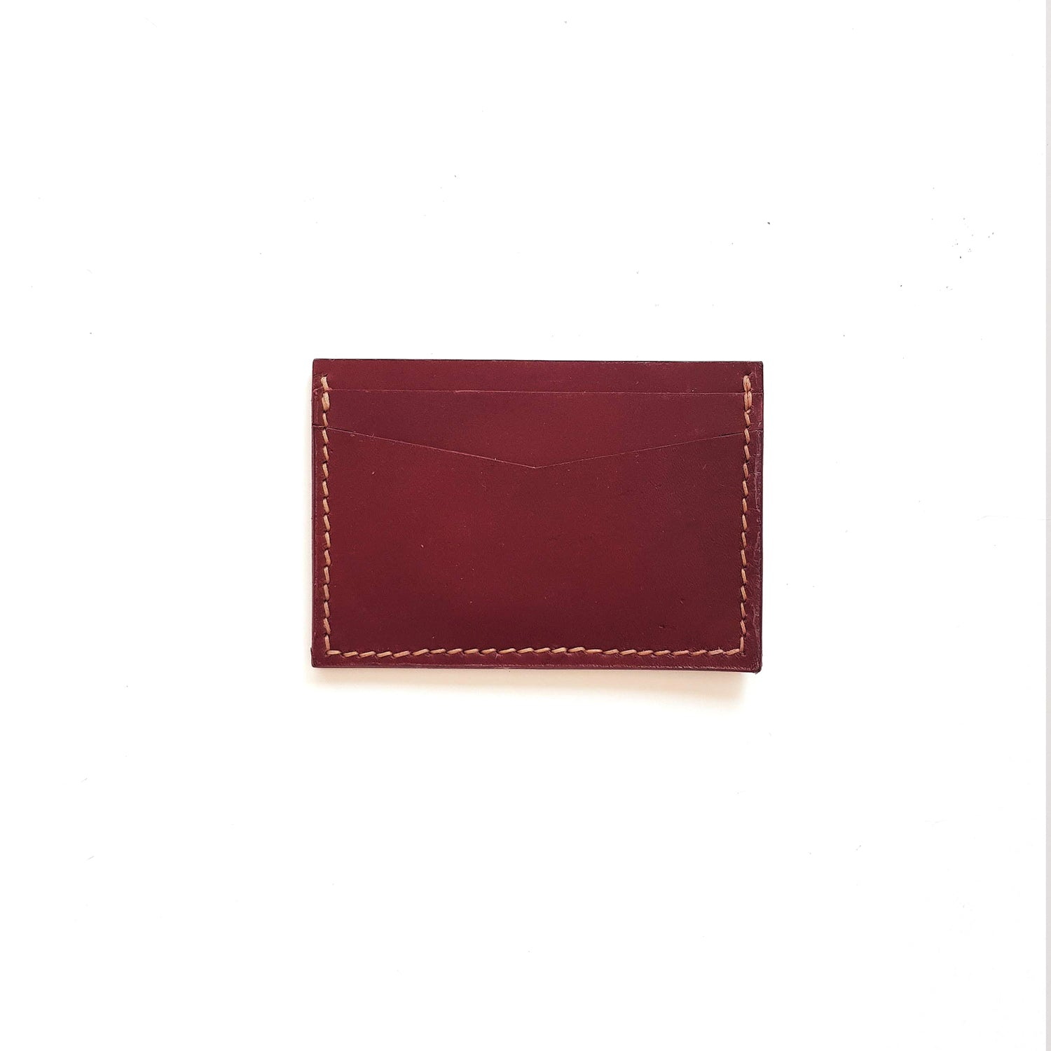 Card Wallet in Wine