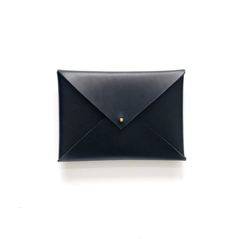 Small Envelope Clutch in Black