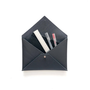 Small Envelope Clutch in Slate