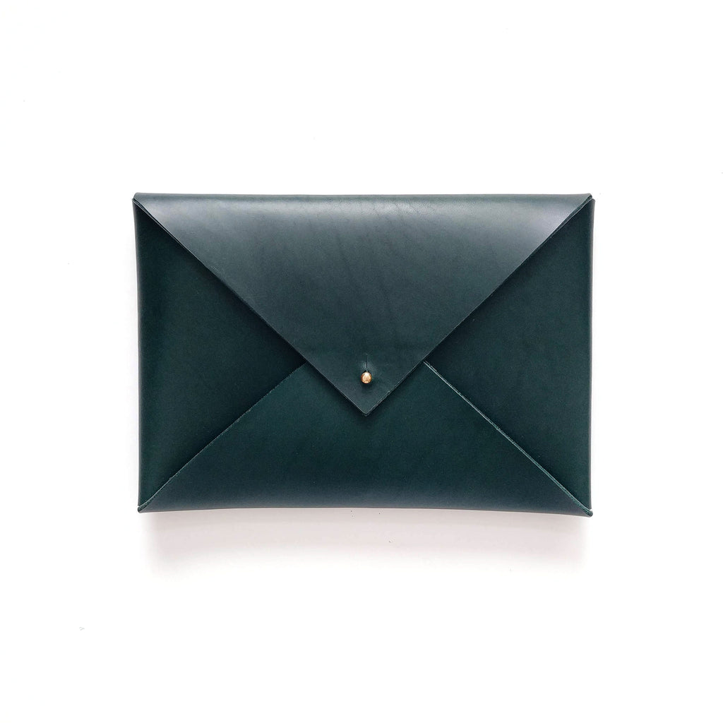 Medium Envelope Clutch in Forest