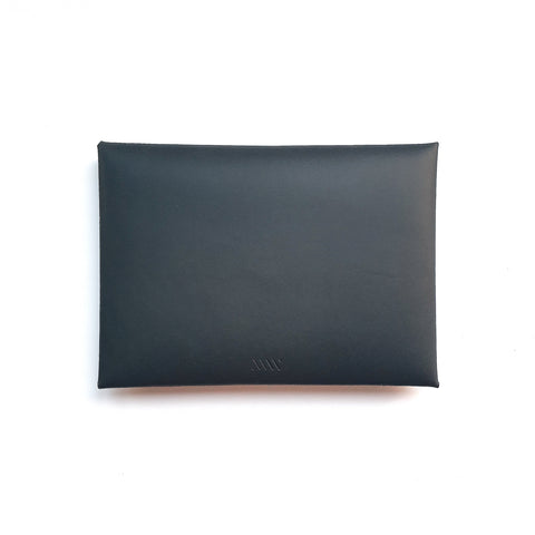 Medium Envelope Clutch in Slate