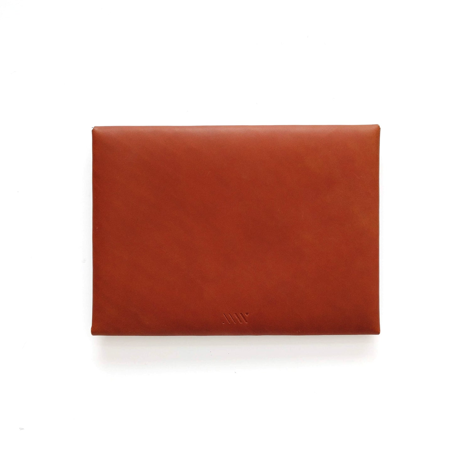 Medium Envelope Clutch in Tan