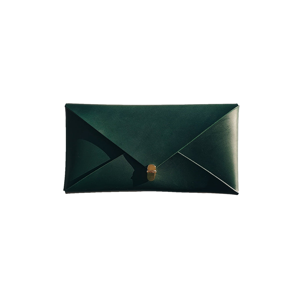 Wide Envelope Clutch in Forest