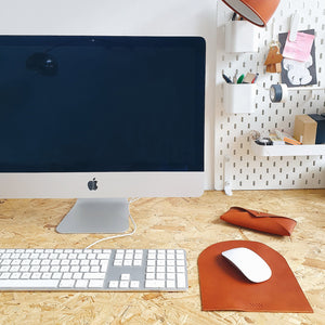 Mouse Mat in Tan
