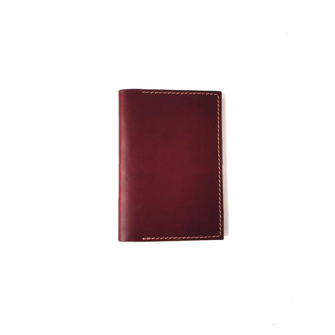 Passport Holder in Wine