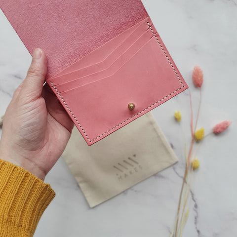 Small Wallet in Blush