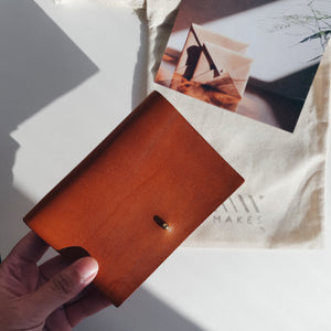Small Wallet in Oak Tanned Leather