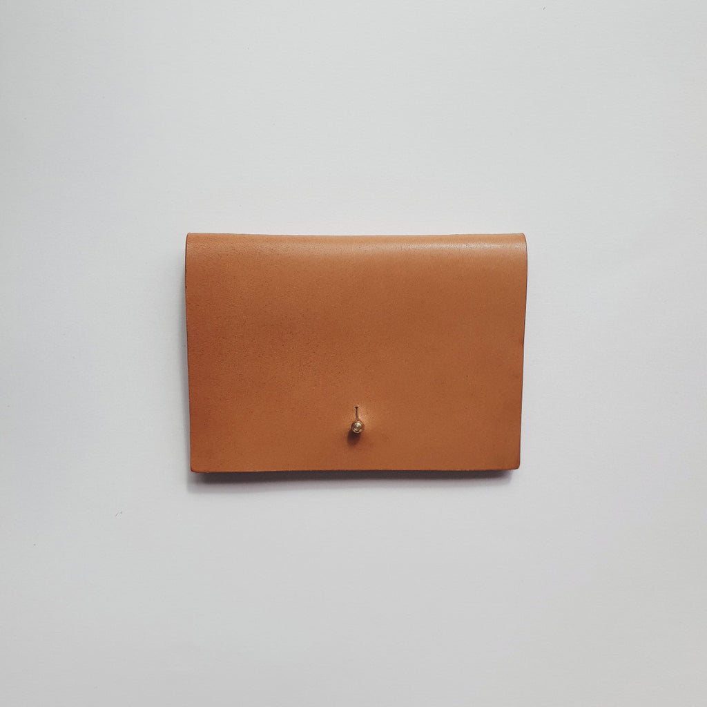 Small Wallet in Vachetta Leather