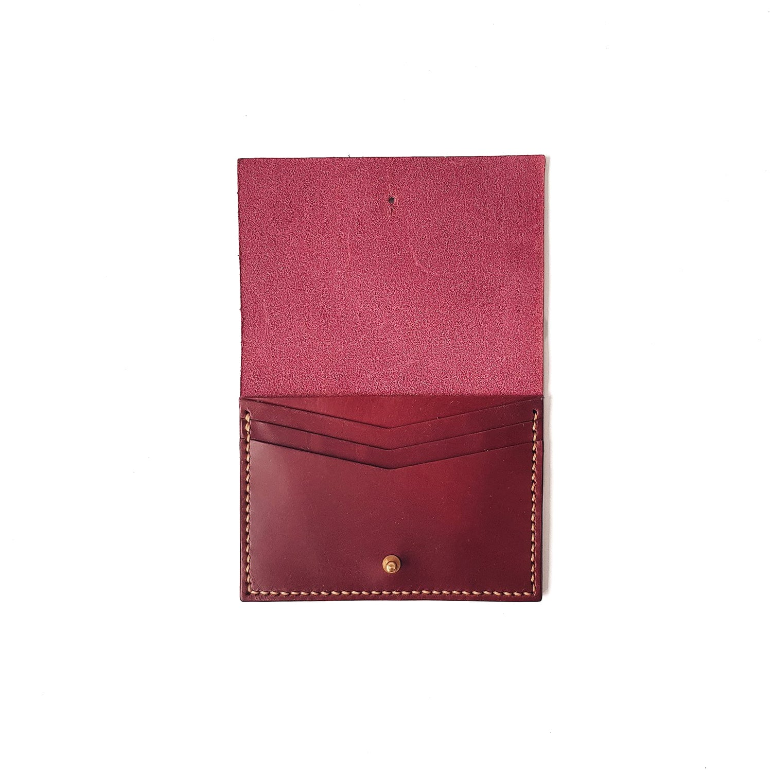 Small Wallet in Wine