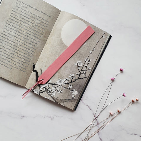 Bookmark in Blush