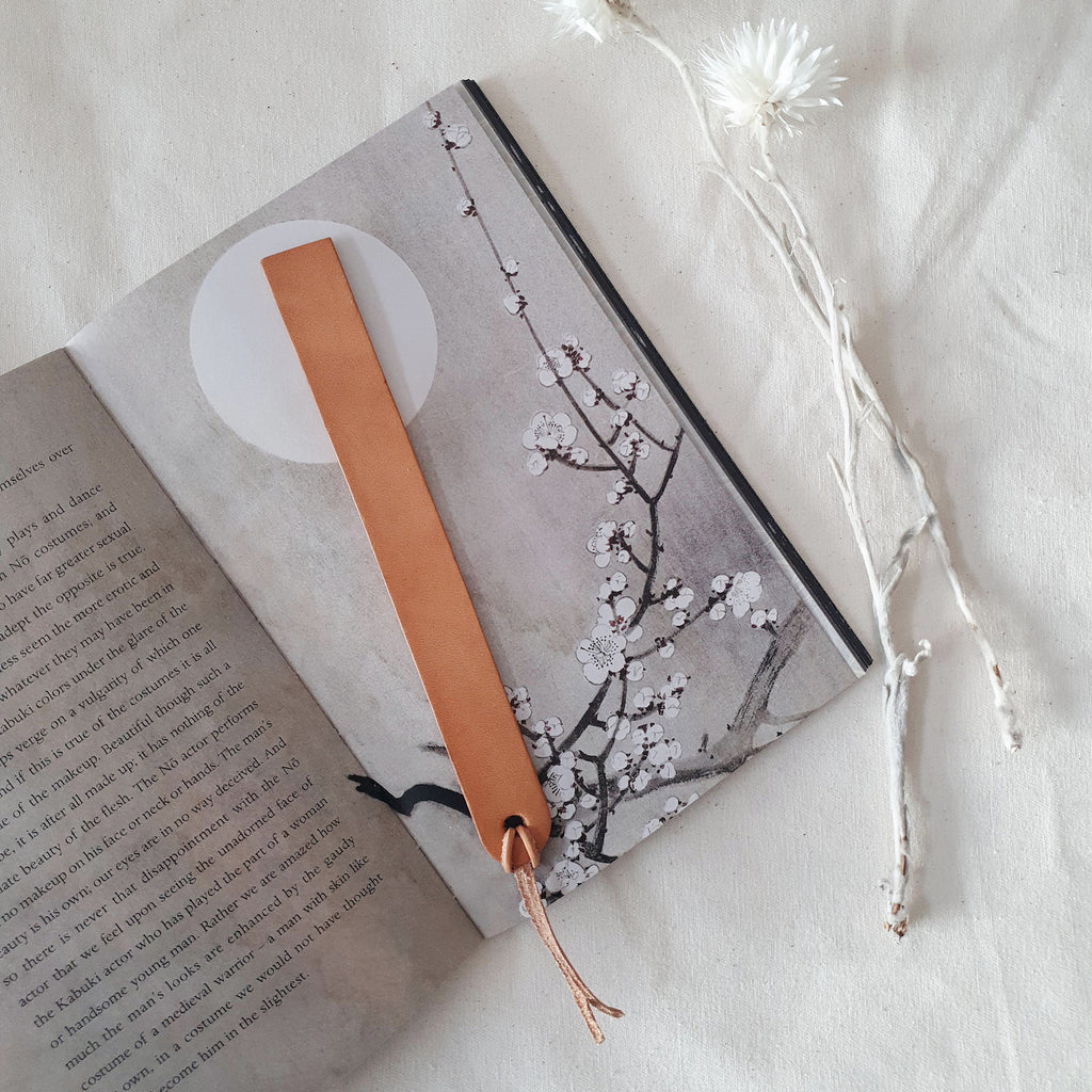 Bookmark in Vachetta