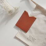 Slim Cardholder in Cognac (Oak Tanned Leather)