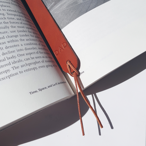 Bookmark in Tan