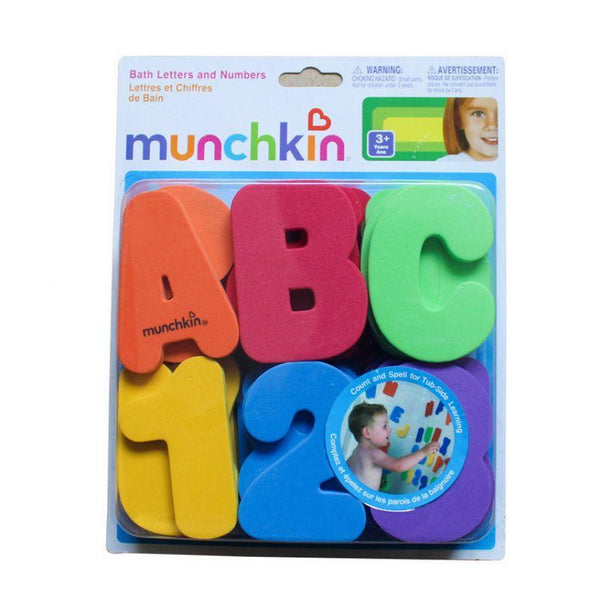 Munchkin 36 Bath Letters and Numbers