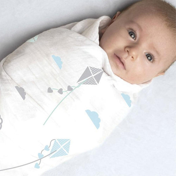 Muslin Bamboo Baby Swaddle Blanket