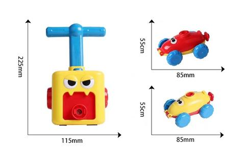 Balloon Launcher & Powered Car Toy Set | yoyowiz