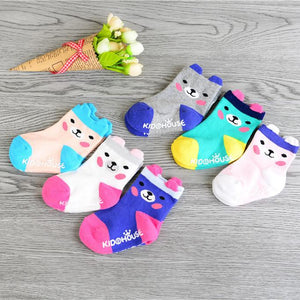 Anti Slip Walk Learn Socks (Teddy design)