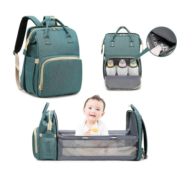 PREMIUM ALL-IN-ONE DIAPER BAG **UPGRADED VERSION**【FREE SHIPPING】
