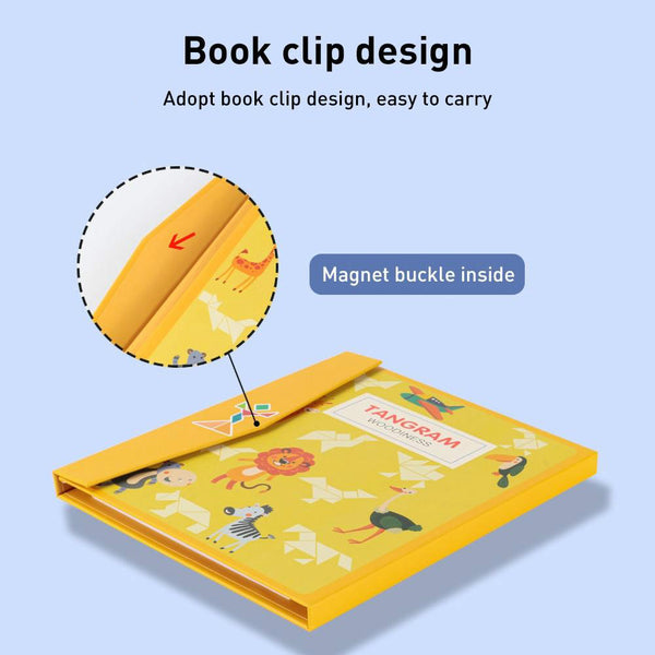 Magnetic Puzzle Book