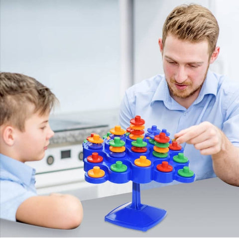 Stack & Balance Tree Family Game