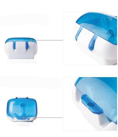 ZapGerm™ Portable UV Toothbrush Sterilizer & Antibacterial Holder