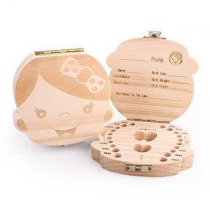Baby Tooth Box Organizer