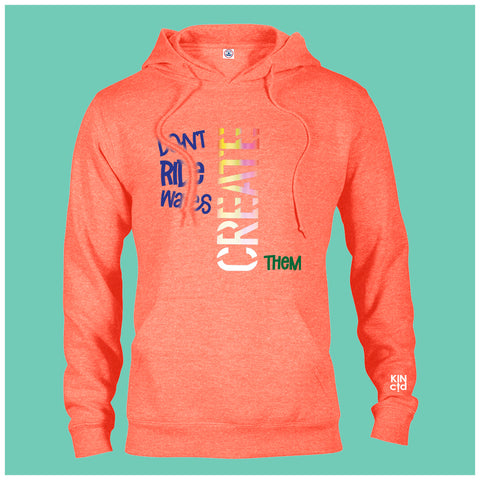 Don't Ride Waves - Coral Hoodie