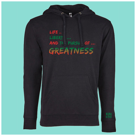 Pursuit of Greatness Lightweight Hoodie
