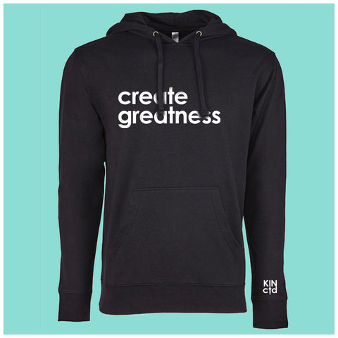Create Greatness Lightweight Hoodie