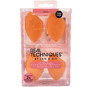 Real Techniques 4 Miracle Complexion Sponges | HODIVA SHOP