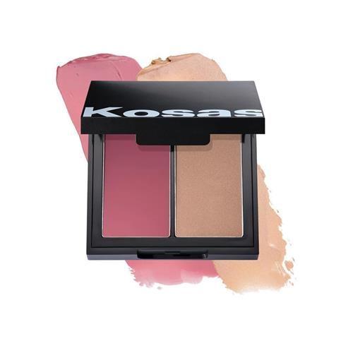 Kosas COLOR & LIGHT PALETTE CREAM BLUSH AND HIGHLIGHTER .32OZ | HODIVA LUX