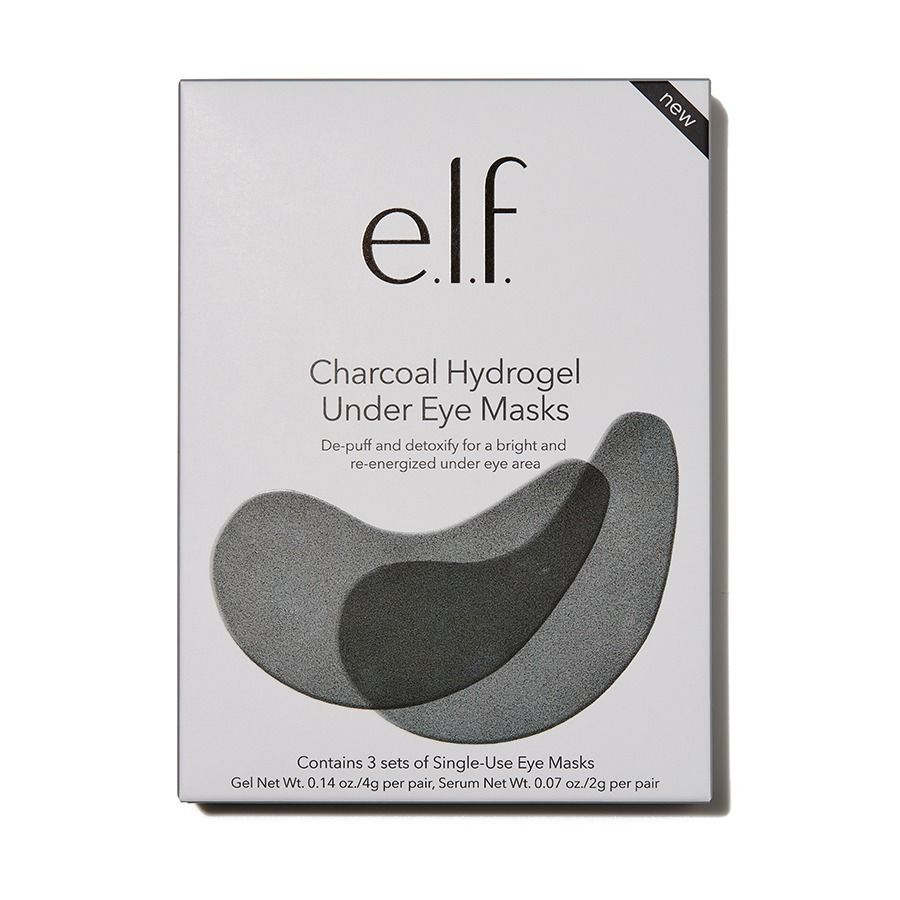 e.l.f. Charcoal Hydrogen Under Eye Masks | HODIVA SHOP