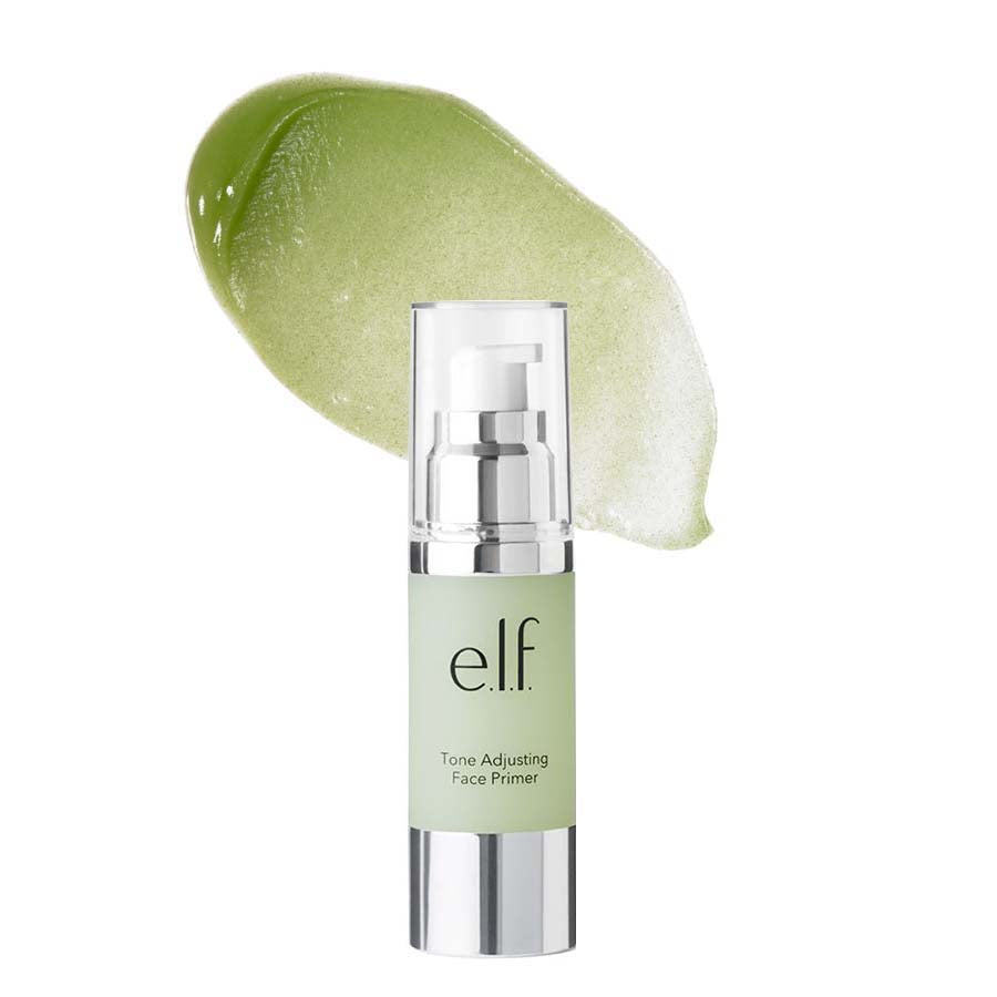 e.l.f. Tone Adjusting Face Primer Large - Neutralizing Green | HODIVA SHOP