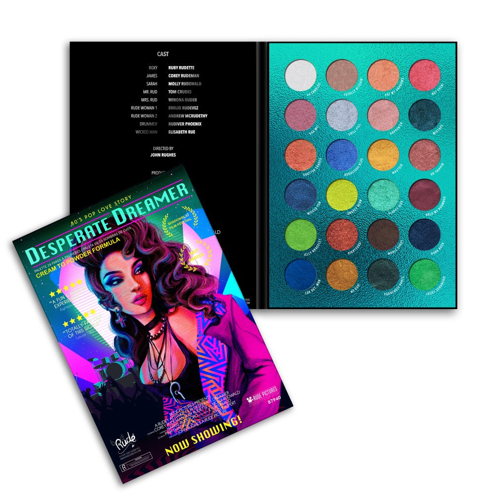 RUDE Desperate Dreamer - 24 Eyeshadow Palette
