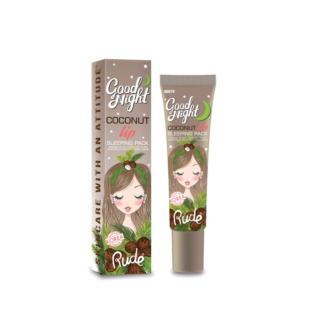 RUDE® Good Night Coconut Lip Sleeping Pack
