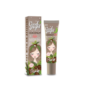 RUDE® Good Night Coconut Lip Sleeping Pack | HODIVA SHOP