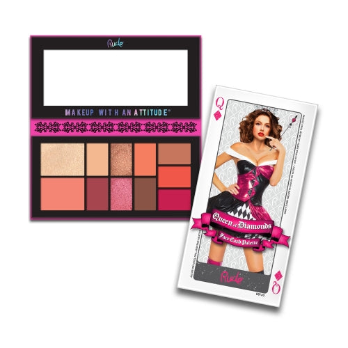 RUDE® Face Card Palette | HODIVA SHOP
