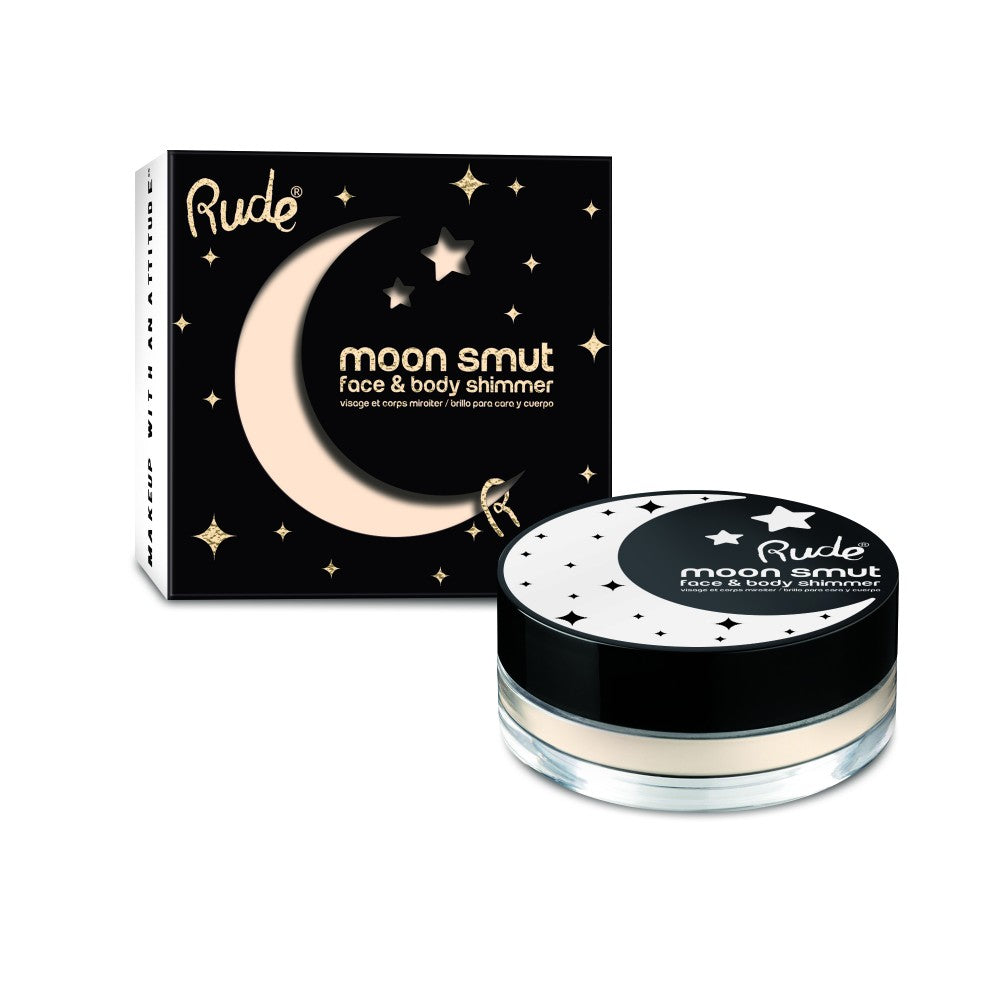 RUDE® Moon Smut Face & Body Shimmer