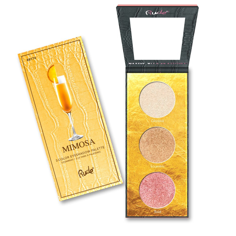 RUDE® Cocktail Party Luminous Highlight / Eyeshadow Palette | HODIVA SHOP