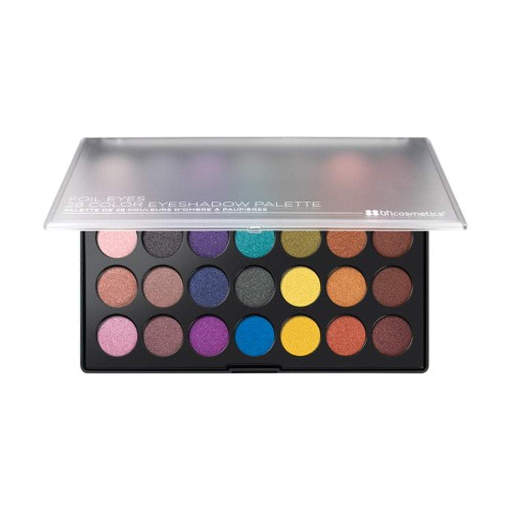BH Cosmetics Foil Eyes - 28 Color Eyeshadow Palette