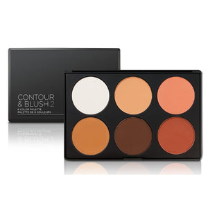 BH Cosmetics Contour & Blush Palette 2 - 6 Color Palette | HODIVA SHOP