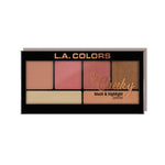 L.A. COLORS So Cheeky Blush & Highlighter | HODIVA SHOP