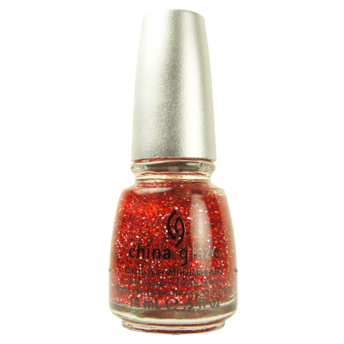 CHINA GLAZE Glitter Nail Lacquer with Nail Hardner | HODIVA SHOP