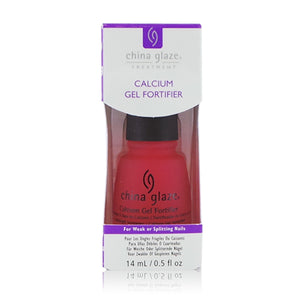 CHINA GLAZE Calcium Gel Fortifier - CGT906 (New Packaging) | HODIVA SHOP