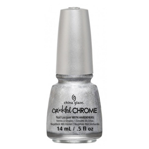 CHINA GLAZE לק לציפורניים - Crinkled Chrome - Aluminate