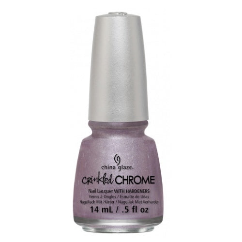 CHINA GLAZE לק לציפורניים - Crinkled Chrome - Crush, Crush, Baby | HODIVA SHOP