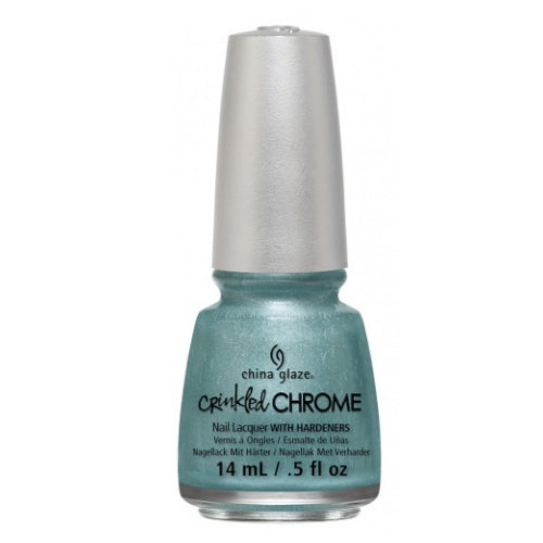 CHINA GLAZE לק לציפורניים - Crinkled Chrome - Don't Be Foiled
