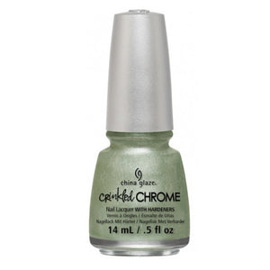 CHINA GLAZE לק לציפורניים - Crinkled Chrome - Wrinkling the Sheets