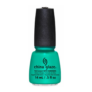 CHINA GLAZE Nail Lacquer - Sunsational - Keepin' It Teal | HODIVA SHOP