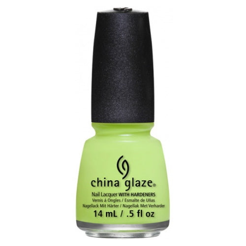 CHINA GLAZE Nail Lacquer - Art City Flourish - Grass Is Lime Greener